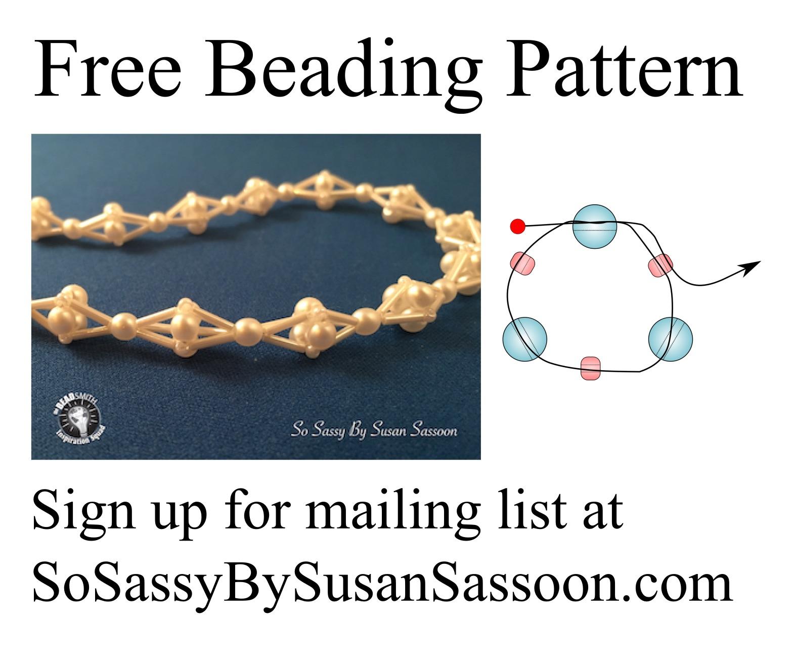 free beading pattern